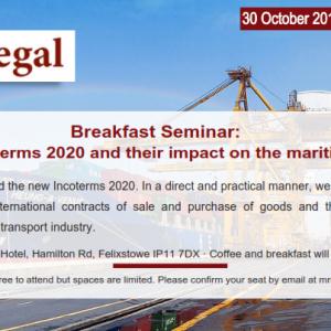 Incoterms 2020 – Seminar in Felixstowe